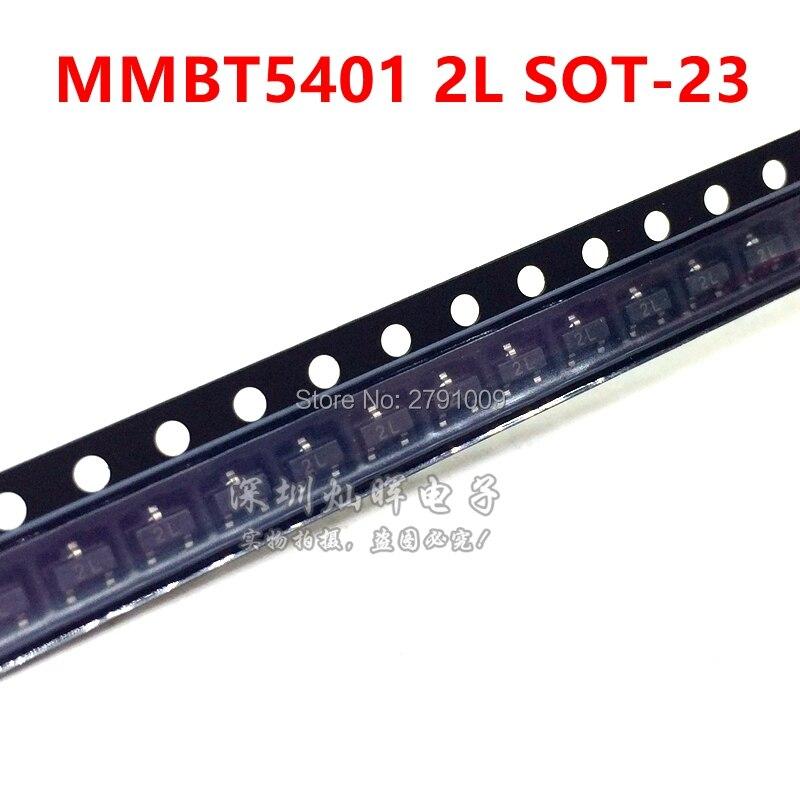 Lot of 20 NPN Transistor 600mA 60V SOT-23 SOT23 SMT SMD MMBT4401