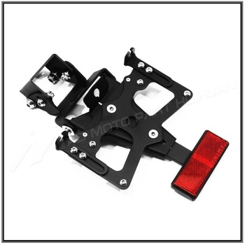 For Yamaha YZF-R6 2006-2015 Motorcycle License Plate Support Holder Mount Bracket Tail Tidy Fender Eliminator YZF R6 YZFR6