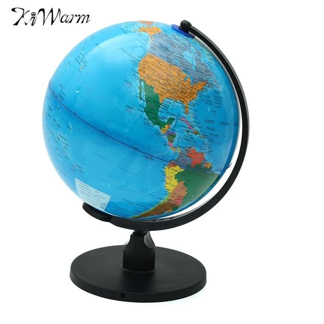 Globus Karte.Kiwarm 25 Cm Globus Karte Mit Schwenker Standplatz Karte Von Erde Geographie Studie Tool Home Buro Bucherregal Shop Desktop Decor Geschenk In Kiwarm