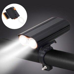 Image 2 - T SUN USB Sạc ĐÈN LED Xe Đạp Đèn Pha 2400 Lumens Xe Đạp Chống Thấm Nước Trước Ánh Sáng Đèn Pin 4 Chế Độ Chiếu Sáng ĐÈN LED Gắn Xe Đạp