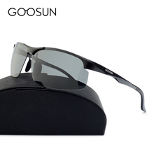 GOOSUN High Quality Aluminum Polarized Sunglasses Men Luxury Brand Sports Sun Glasses Driving Eyewear Male Sunglass With box