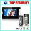 New Arrival 7 Color Video Door Phone Wired Village Video Intercom Video Door Bell Optional Rfid