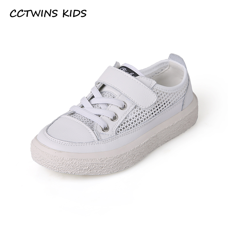 CCTWINS Kids Shoes 2019 Spring Girls Genuine Leather Sports Sneakers Boys Clearance White ...