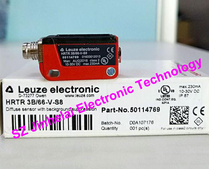 HRTR 3B/66-V-S8  New and original Germany LEUZE Photoelectric switch, Photoelectric sensor 100% new and original fotek photoelectric switch a3g 4mx mr 1 free power photo sensor