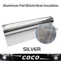 6PCS 50CM 50CM Aluminium Foil Shield Heat Insulation Sound Absorption Economical Bubble Layer Roof Decking