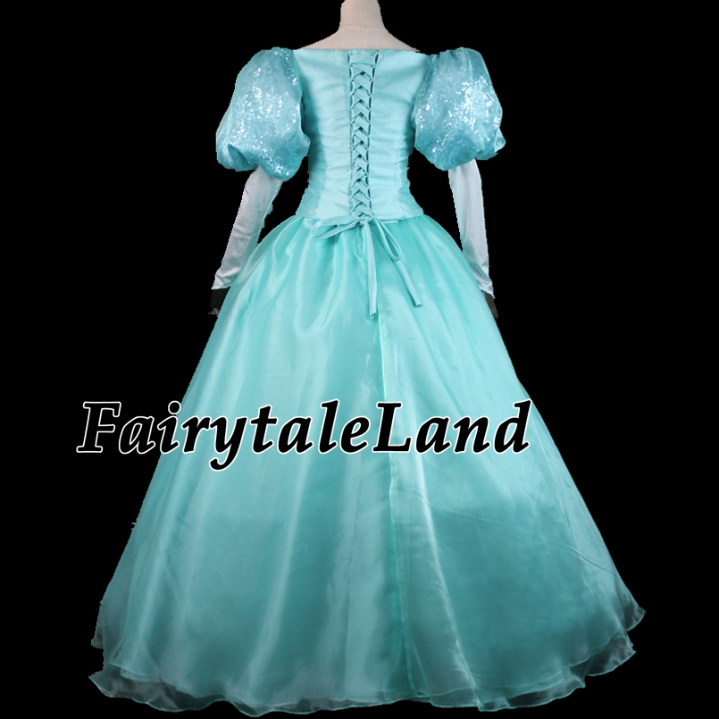 на платье Princess блестками
