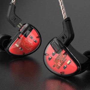 Image 5 - KZ AS10 kulaklıklar 5 dengeli armatür sürücü kulak kulaklık HIFI bas monitör kulaklık kulakiçi 2pin kablo KZ ZS10 KZ BA10