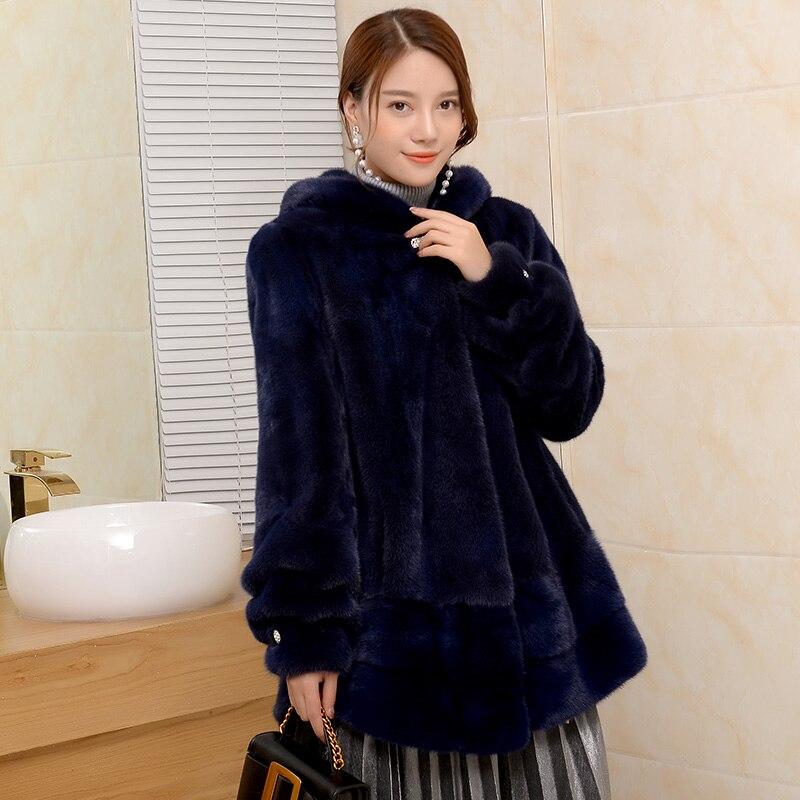 Section Avec Spécial black Longue Color Velours En De Une Fourrure Vison Blue Cream Manteau Femmes red Importé Nouvelle Wine white sultan wqxBzAfYn