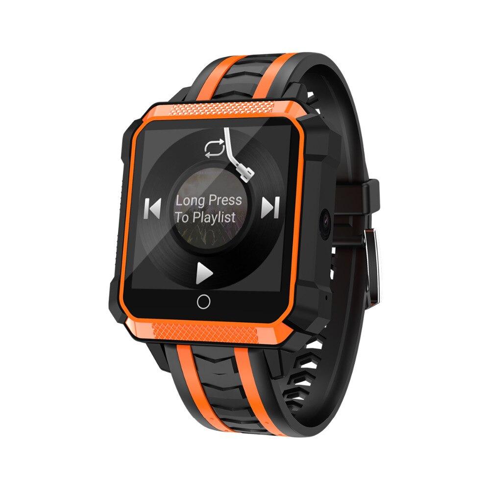 H7 montre intelligente étanche GPS Smartwatch Android porter 4G Bluetooth Sport Smartwatch avec lecteur de musique caméra Mtk6737