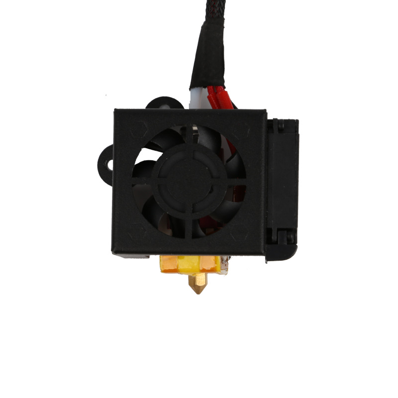 1 PCS Extruder Kits With 2PCS Fans Fan Cover Air Connections Nozzle Kits for CR-10 Series 3D Printer Free Shipping картридж t2 ce413a для hp laserjet pro 300 m351a 400 m451nw пурпурный с чипом 2600стр tc h413a