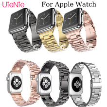 цена на Stainless steel metal strap For Apple Watch 40mm 44mm 38mm 42mm smart watch band for Apple Watch series 4 3 2 1 iWatch bracelet