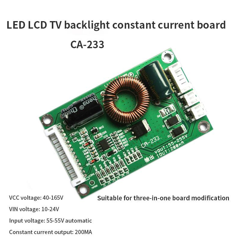 5pcs/lot CA-233 Universal 32-60 inch LED LCD TV backlight constant current booster board 55-255V output constant current board5pcs/lot CA-233 Universal 32-60 inch LED LCD TV backlight constant current booster board 55-255V output constant current board