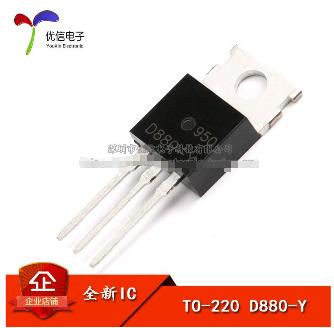 1pcs/lot Transistor D880 KSD880Y TO-220 NPN Transistor 3A 60V New Original
