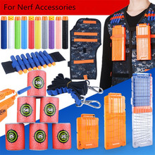 2018 Hot Tactical Equipment Toy Magazine voor Nerf Accessoires Bullet Clip Tactical Handbag Darts Nerf Target Gun Bullets