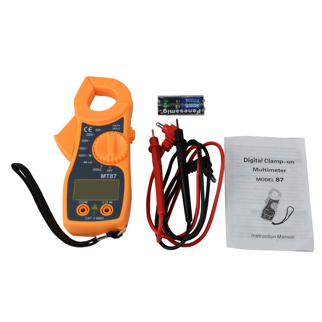 MT87 Digital Clamp Meter Multimeter DC AC Voltage Current Tongs Resistance Amp Ohm Tester Electronic Medidor Multimetre Tools atorch electronic multimeter digital clamp meter dc ac voltage current tongs resistance amp ohm tester medidor multimetre tools