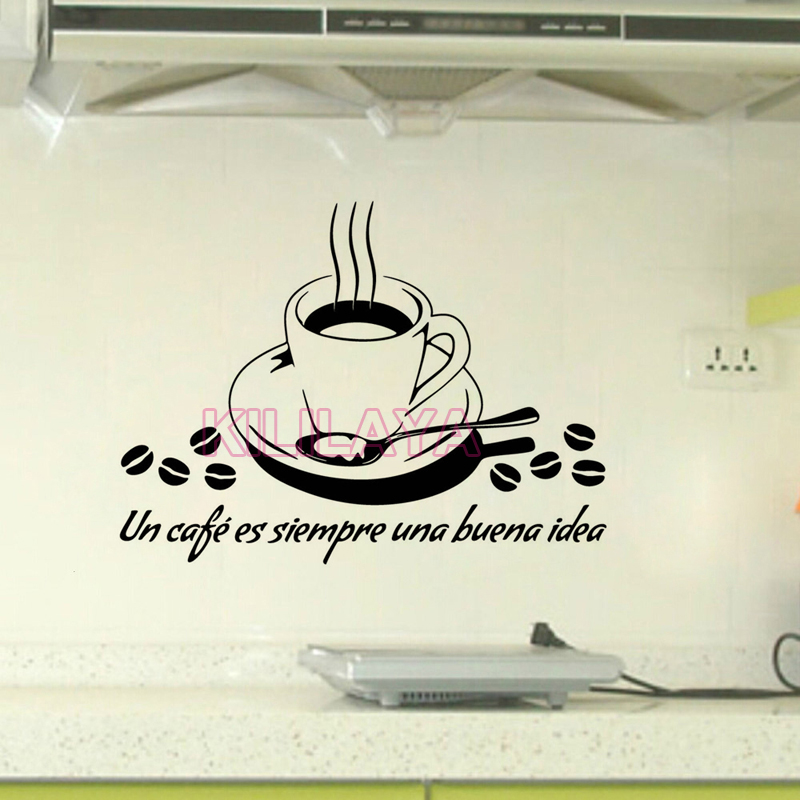 com : Buy French Cuisine Stickers Coffee Cup Vinyl Wall Decals Sticker ...
