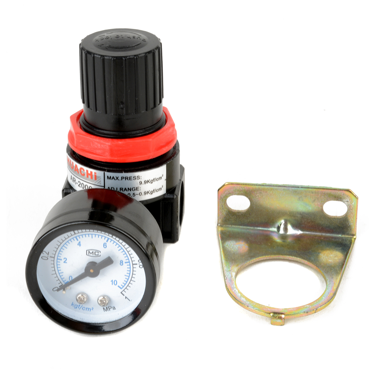 1pc Air Control Compressor Relief Regulator Pressure Regulating Valve AR2000 75x40x40mm 120psi air compressor pressure valve switch manifold relief regulator gauges