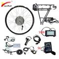 BAFANG 48V электрический велосипед комплект 350 Вт 500 Вт Мотор колеса с задней стойкой батарея для 26