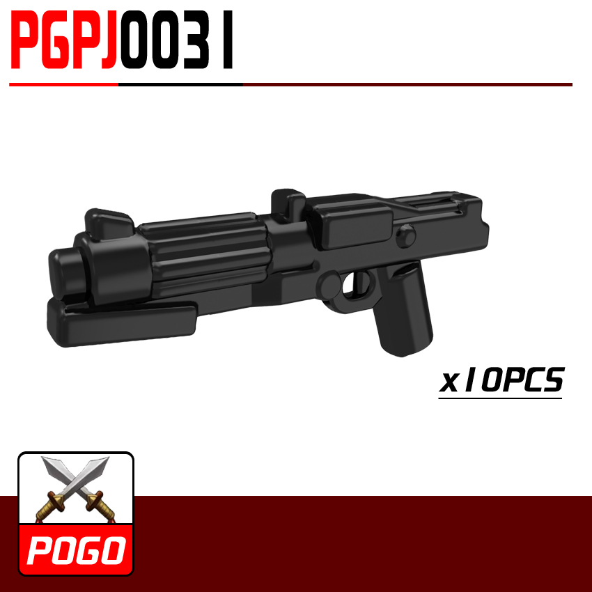 PG0031 10pcs/lot World War Pistol Rifle Gun Future Weapons SWAT For MINIFIG Action Assemble Building Blocks Kids Toys Gifts