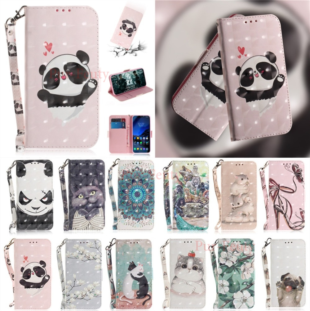 <font><b>Cases</b></font> <font><b>For</b></font> Nokia5.1 PLUS <font><b>TA</b></font> 1105 10108 Lovely Flip Cute Cartoon Printed PU fashion Leather Wallet Stand <font><b>for</b></font> Nokia5.1 <font><b>TA</b></font> 1088 <font><b>1075</b></font> image