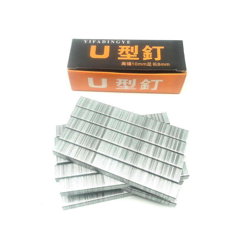 1008F U nails For F15 U Staple 2 In 1 Framing Tacker Electric Nails Staple Gun 2200pcs