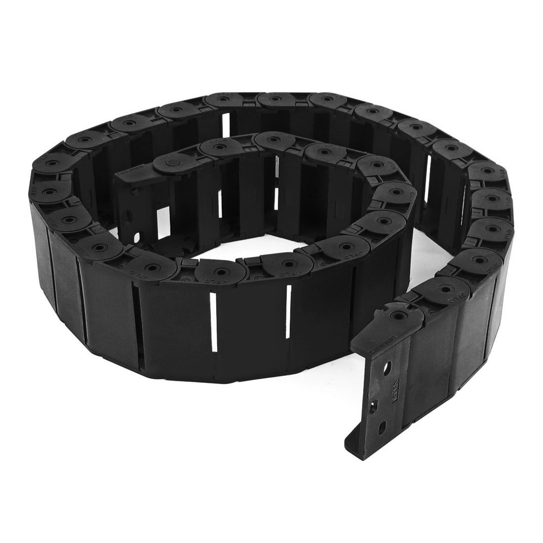 40.55 Black Cable Wire Carrier Drag Chain Nested 18x50mm
