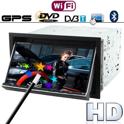 Multimedia Entertainment Car DVD Player support GPS Navigation