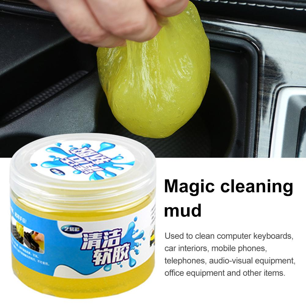 Image 2 - Car Air Vent Cleaning Glue Slime Jelly Gel Compound Dust Wiper Cleaner or Laptop PC Computer Keyboard Car Interior Cleaner Tool-in Sponges, Cloths & Brushes from Automobiles & Motorcycles