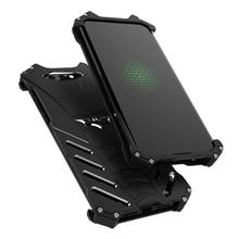 R-JUST защитный чехол для телефона XIAOMI BLACK SHARK Металлический Алюминиевый противоударный чехол s