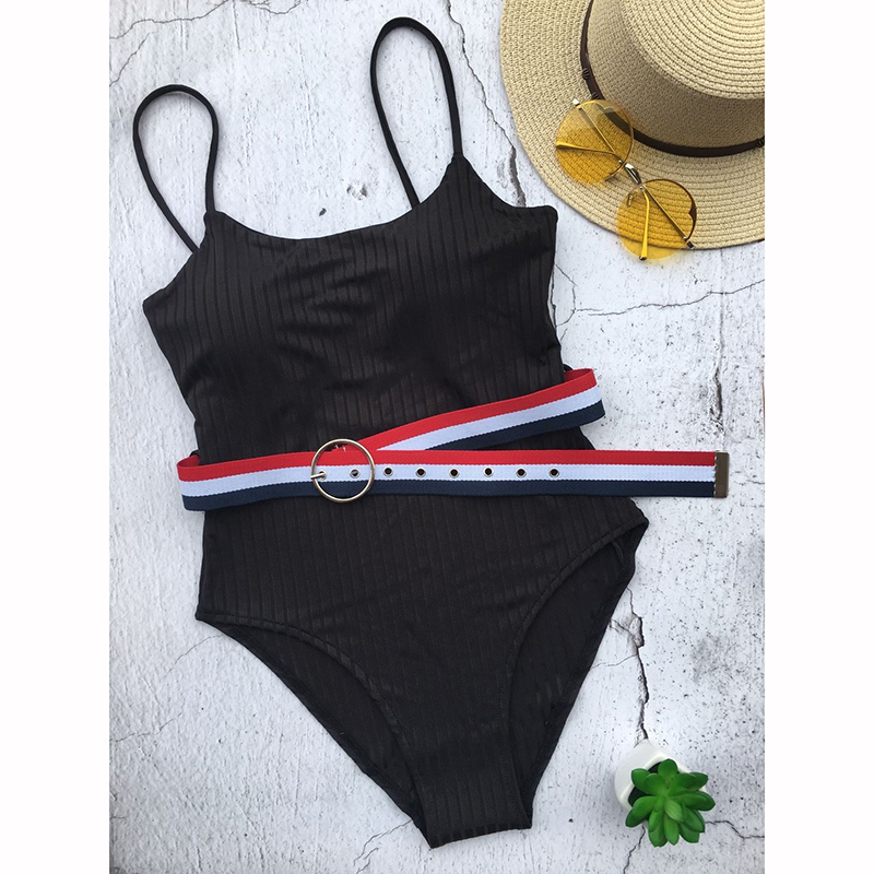 New Sexy Women Swimwear Swimsuit Swim Wear One Piece Body Suit Swimming Bathing Suits Monokini Maillot De Bain Mujer Summer 2019 in Body Suits from Sports Entertainment