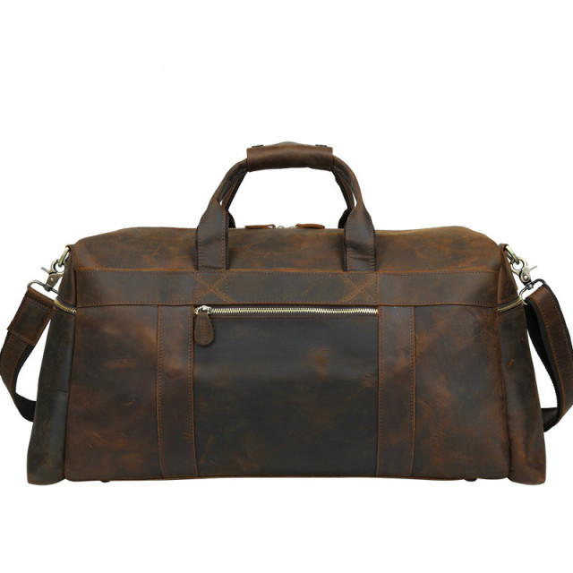 c6c2735f8fd2 Luxury New Genuine Leather Travel Bag Men Duffel Large Capacity Bags Handbag  for Male Packing Cubes Overnight Carry on Luggage