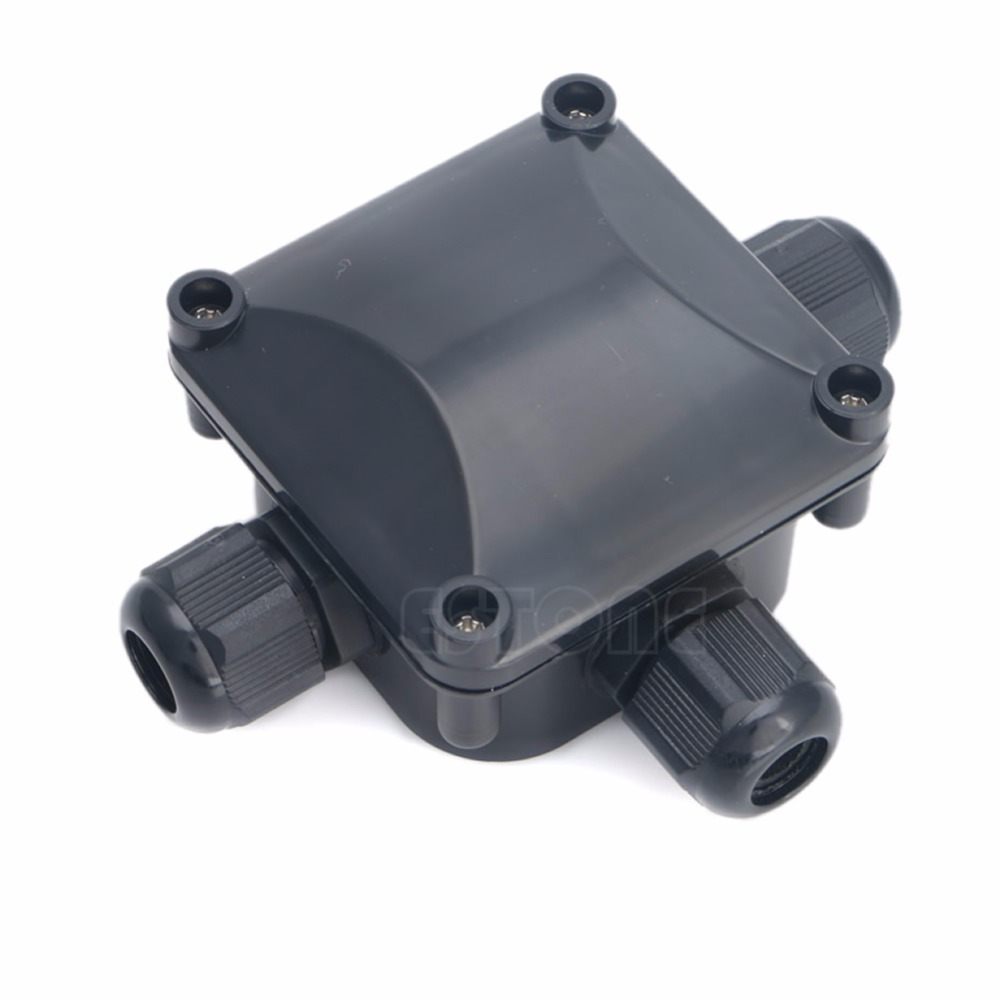 Waterproof IP 68 Junction Box 3 Cable & Wire Protection Building DTY Connectors