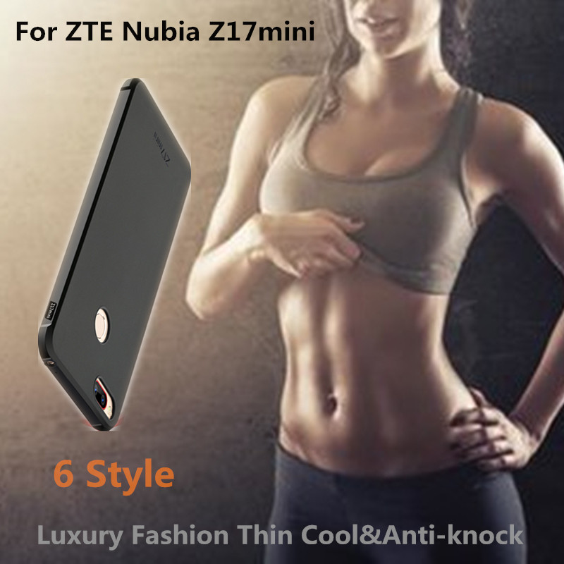 Luxury phone case for ZTE Nubia Z 17 mini case 3D Dragon shockproof Soft Silicone back cover nubia z17mini phone case