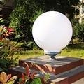 Top Grade De Alumínio & Pilar Acrílico lâmpadas de Luz branca grande pilar redondo Perfeito luz para interior e exterior, quintal, porta de entrada