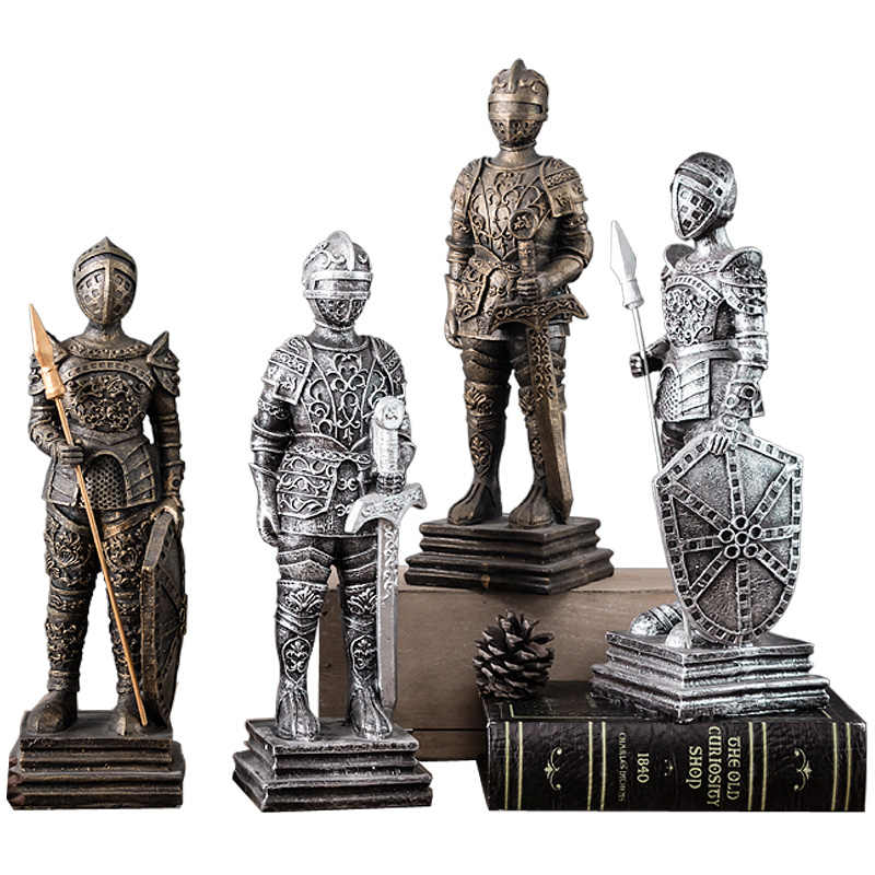 Creative European Retro Soldier Room Decorations Ornaments Home Living Room Furnishings