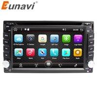 Eunavi 2 Din Universal Android 7 1 Car Dvd Player Radio Tape Recorder Audio Stereo 2din