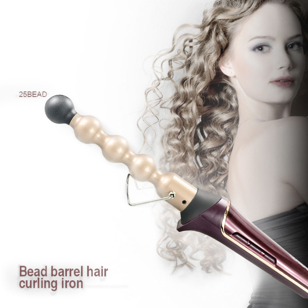 Professional Hair Curling Iron Ceramic Hair Curler Rollers Electric Magic Curling Wand for Tousled Waves bob weeks curling for dummies