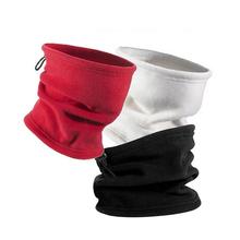Piesze wycieczki szalik Camping maska cykl polar runo kominiarka na zewnątrz Snood ocieplacz na szyję cieplej szyi Tube maska nakrycia głowy tanie tanio IdealPlast Stałe Poliester Aktywny A1024