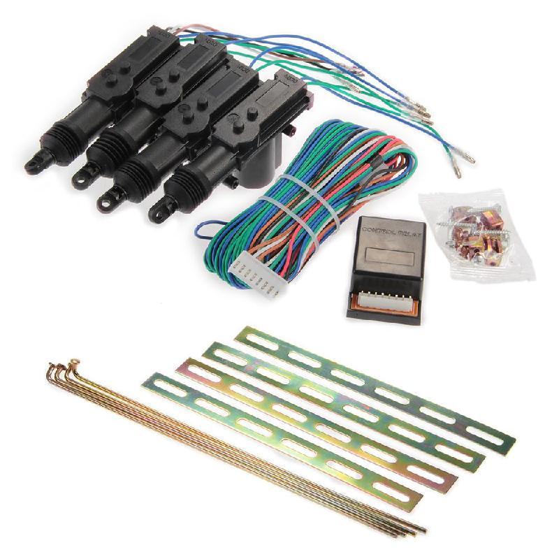 Kit de sistema de bloqueo Central de entrada sin llave de Control remoto de 4 puertas para coche envío gratis Alarma de automóvil, motor de arranque y parada, pulsador Starline, interruptor de ignición RFID, sistema antirrobo de entrada sin llave