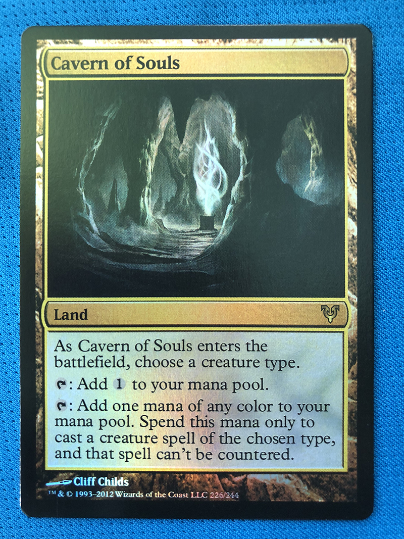 Cavern Of Souls Avacyn Restored Foil Magician ProxyKing 8.0 VIP The Proxy Cards To Gathering Every Single Mg Card.