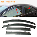 Car Stylingg Awnings Shelters 4pcs/lot Window Visors For Toyota Reiz 2007-2016 Sun Rain Shield Stickers Covers
