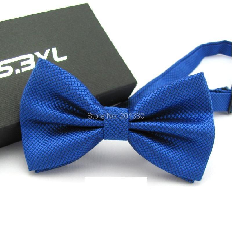 17 Solid color bowtie men Bow Tie Fashion butterflies white black blue 8