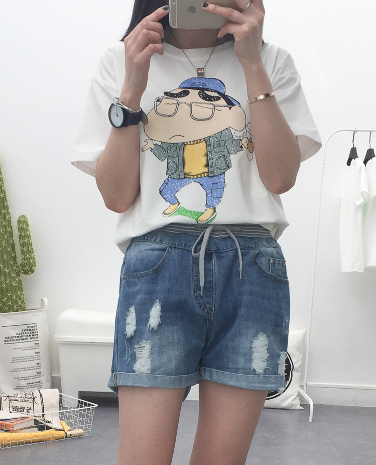 Popular Loose Fitting Jean Shorts for Women-Buy Cheap Loose ...