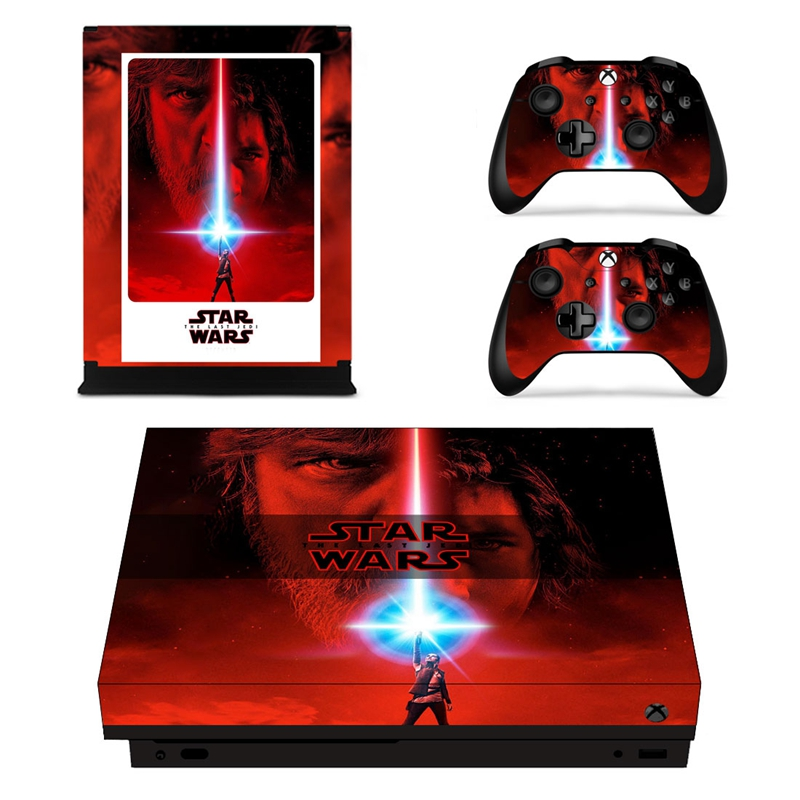 HOMEREALLY Stickers For Microsoft Xbox One X skin game star wars skin stickers For Microsoft Xbox One X Controller and Console
