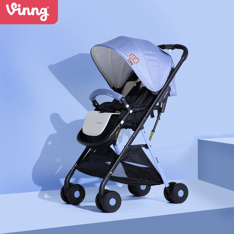 купить Vinng S358,baby stroller, can sit and can lie down,high landscape baby stroller, convenient folding, damping по цене 6440.72 рублей