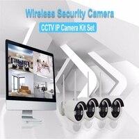IMPORX 4CH Wireless CCTV System HD 960P NVR 4PCS 1.3MP IR Outdoor P2P Wifi IP CCTV Security Camera System Video Surveillance Kit