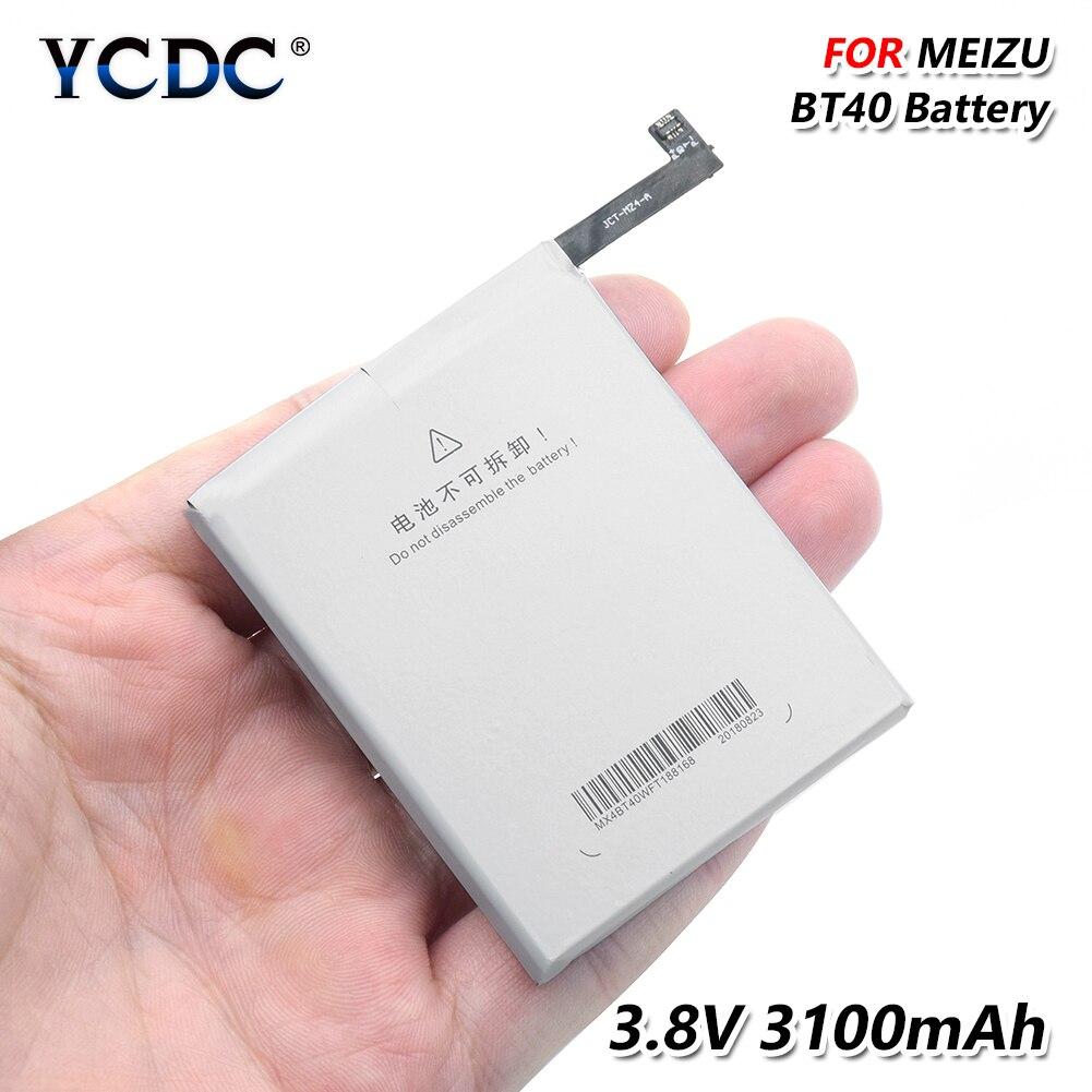 Batterie de remplacement de téléphone batterie de téléphone d'origine de haute qualité BT40 BT-40 BT 40 pour Meizu MX4 Rechargeable 3100mAh