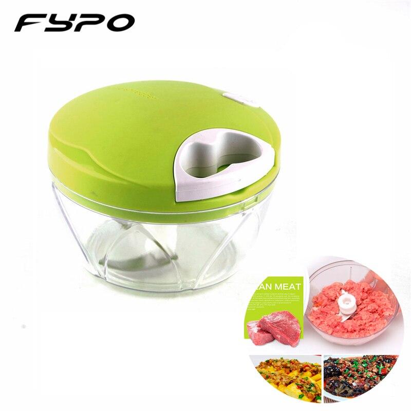 Fypo Multifunction Vegetable Chopper Cutter Onion Hand Speedy Chopper Vegetable Fruits Chopped Shredders & Slicers Kitchen Tool