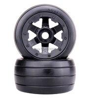 1/5 rc car, Rear Slicks wheels set (x 2pcs) fit HPI Rovan baja 5b King motor truck Free shipping