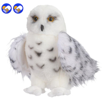 A Toy A Dream Premium Quality Snowy White Plush Hedwig Owl Toy Large 12 Inch Adorable